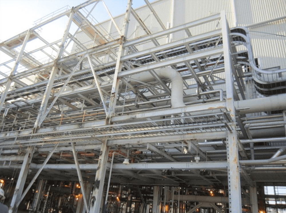 example of difficult access project with csm industrial products