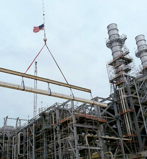 CSM Industrial Project at Sabine LNG In Cameron, LA