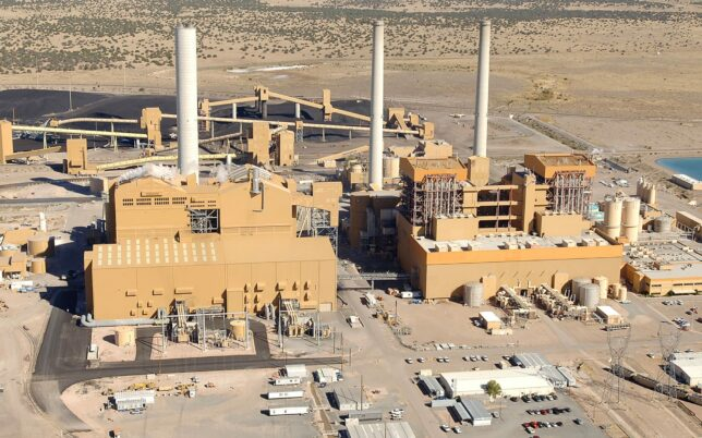 remote location project at springerville power plant