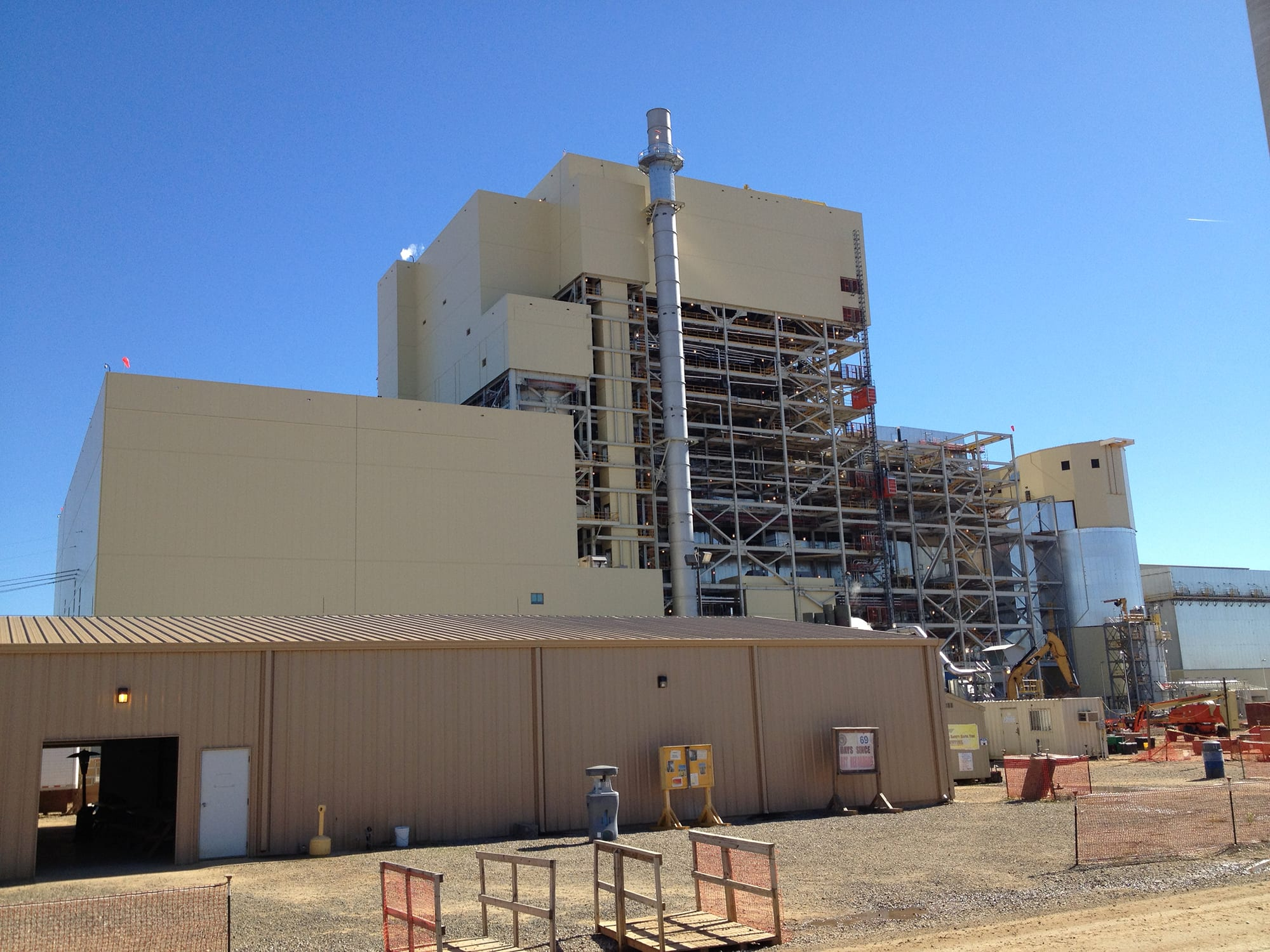 csm industrial project at turk power plant