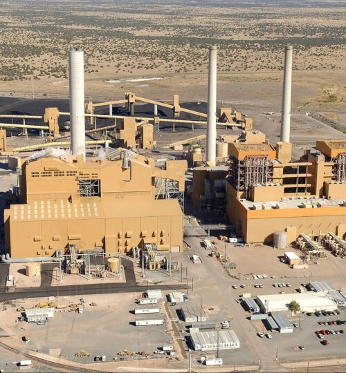 CSM Industrial Project at SRP Power Plant In Springerville, AZ