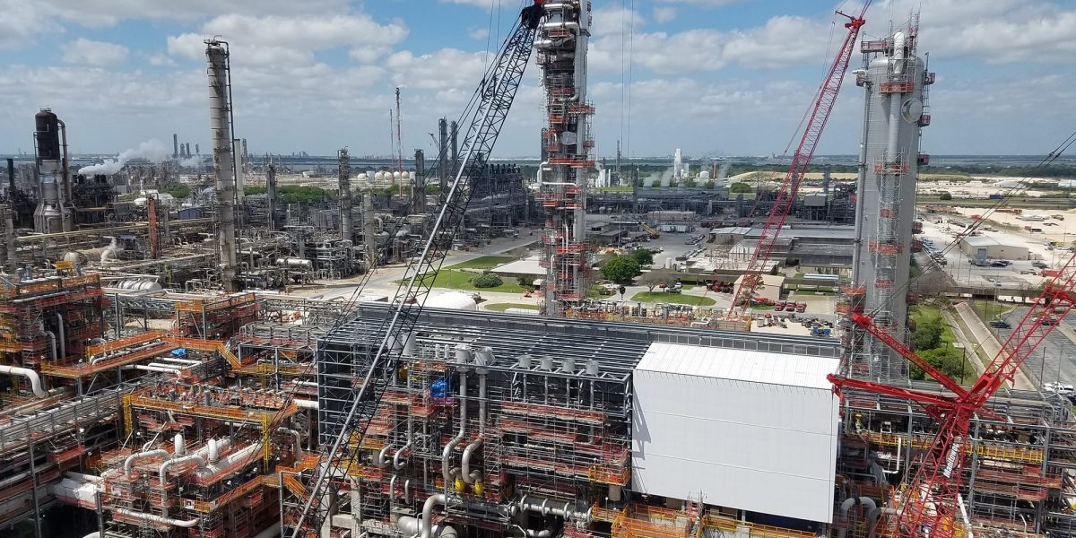 CSM industrial project at exxon baytown